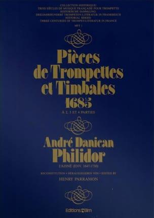 André Danican Philidor - Pièces de Trompettes Et Timbales 1685 - Partition - di-arezzo.fr