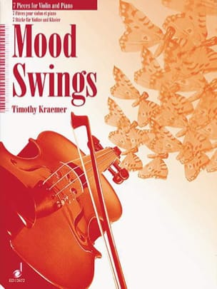Mood Swings - Timothy Kraemer - Partition - Violon - laflutedepan.com