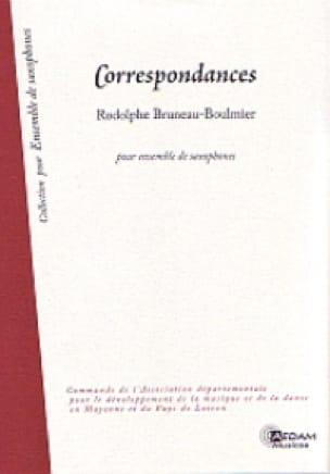 Rodolphe Bruneau-Boulmier - Correspondence - Driver - Sheet Music - di-arezzo.com