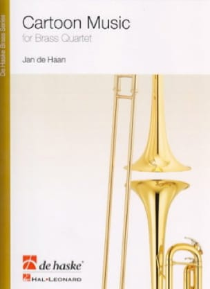 Cartoon Music - Jan De Haan - Partition - laflutedepan.com