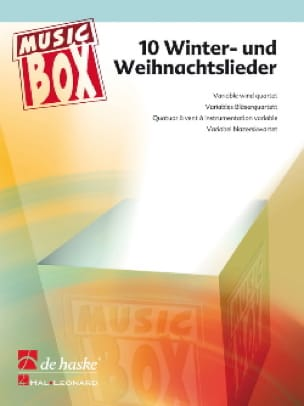 Traditionnel - 10 Winter und weihnachtslieder - music box - Sheet Music - di-arezzo.com