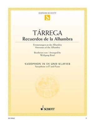 Francisco Tarrega - Recuerdos of the Alhambra - Sheet Music - di-arezzo.com