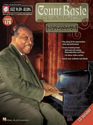 Count Basie - Jazz play-along volume 126 - Count Basie Classics - Partition - di-arezzo.fr