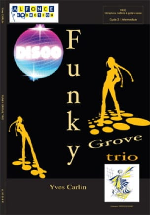 Funky groove trio Yves Carlin Partition laflutedepan