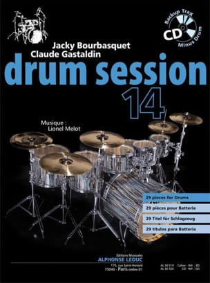 Jacky Bourbasquet & Claude Gastaldin - Drum session 14 - Partition - di-arezzo.fr