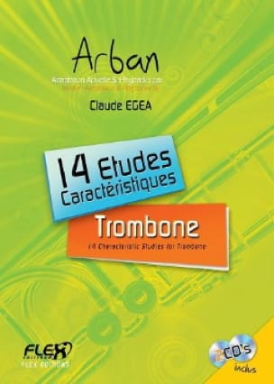 14 Etudes Caractéristiques - Jean-Baptiste Arban - laflutedepan.com