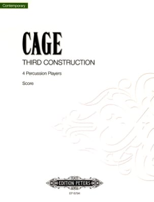 John Cage - Third Construction - Partition - di-arezzo.fr