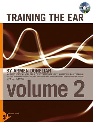 Armen Donelian - Training The Ear Volume 2 - Sheet Music - di-arezzo.co.uk