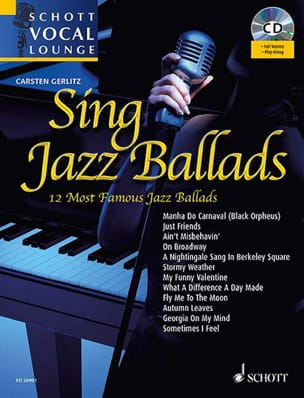 - Sing Jazz Ballads - Partition - di-arezzo.fr