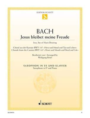 Johann Sebastian Bach - Jesus Bleibet Meine Freude - Partition - di-arezzo.fr