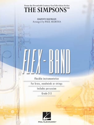 The Simpsons - FlexBand - Danny Elfman - Partition - laflutedepan.com