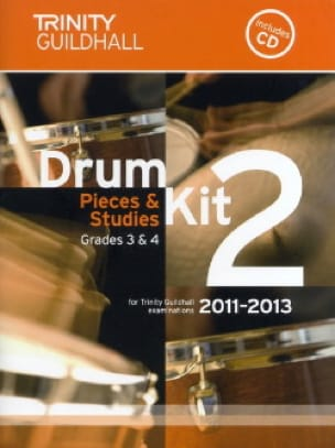 Drum kit 2 - Pieces & Studies Grades 3 & 4 - laflutedepan.com