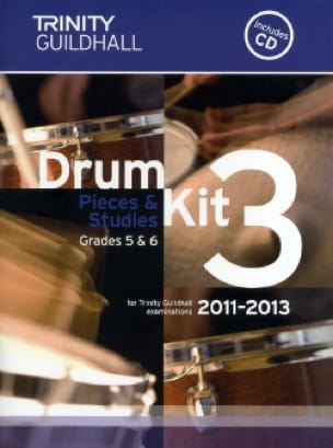 - Drum kit 3 - Pieces & Studies Grades 5 & 6 - Partition - di-arezzo.fr
