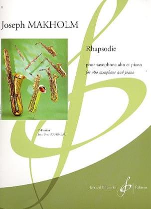 Rhapsodie - Joseph Makholm - Partition - Saxophone - laflutedepan.com