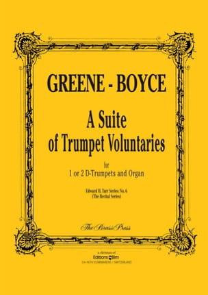 Greene Maurice / Boyce William - A Suite Of Trumpet Voluntaries - Partition - di-arezzo.fr