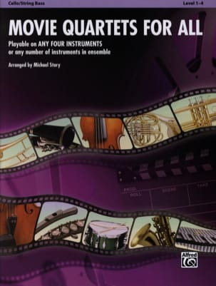 Movie quartets for all - Sheet Music - di-arezzo.com