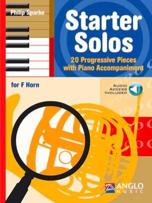Starter Solos - Philip Sparke - Partition - Cor - laflutedepan.com