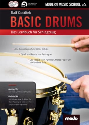 Basic Drums Ralf Gottlieb Partition Batterie - laflutedepan