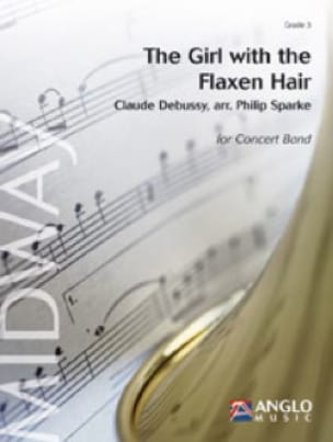 The Girl With The Flaxen Hair DEBUSSY Partition laflutedepan