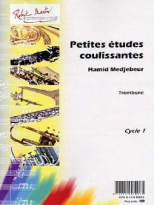 Hamid Medjebeur - Petites Etudes Coulissantes - Partition - di-arezzo.fr