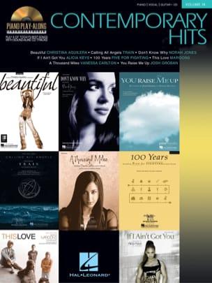 Piano Play-Along Volume 19 - Contemporary Hits - laflutedepan.com
