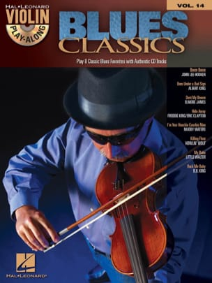 Violin play-along volume 14 - Blues Classics Partition laflutedepan