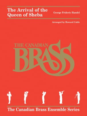 HAENDEL - The Arrival Of The Queen Of Sheba - Sheet Music - di-arezzo.com