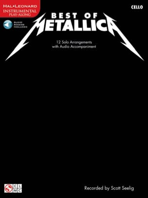 Best Of Metallica Metallica Partition Violoncelle - laflutedepan