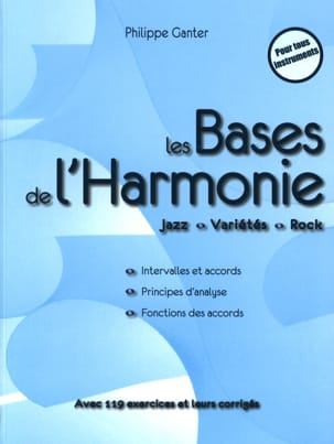Philippe Ganter - The Bases of Harmony - 4th Edition - Book - di-arezzo.co.uk