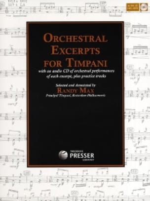 Orchestral Excerpts For Timpani - Sheet Music - di-arezzo.co.uk