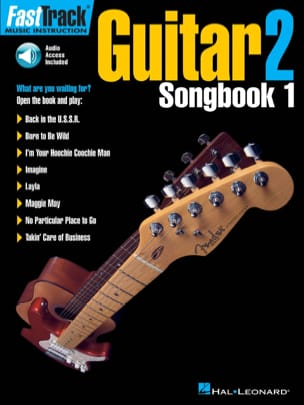 Fast Track Guitar 2 - Songbook - Partition - di-arezzo.fr