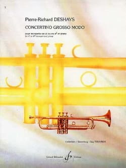 Pierre-Richard Deshays - Concertino Grosso Modo - Partition - di-arezzo.fr