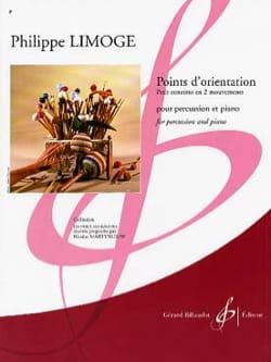 Philippe Limoge - Points D' Orientation - Petit Concerto En 2 Mouvements - Partition - di-arezzo.fr