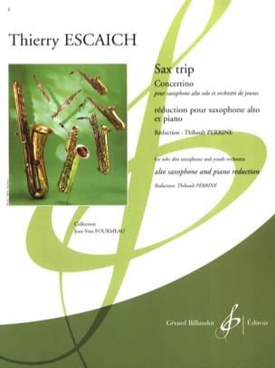 Thierry Escaich - Sax Trip - Concertino - Partition - di-arezzo.fr