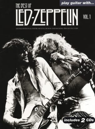 Led Zeppelin - Play Guitar With... The Best Of Led Zeppelin Volume 1 - Partition - di-arezzo.fr
