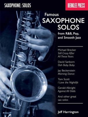 - Famous Saxophone Solos - From RB, Pop And Smooth Jazz - Sheet Music - di-arezzo.co.uk