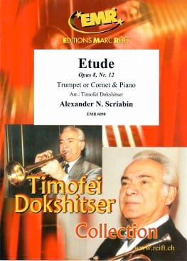 Etude Opus 8 n°12 - Alexandre N. Scriabin - laflutedepan.com