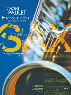 Vincent Paulet - Harmonie Intime - Partition - di-arezzo.fr