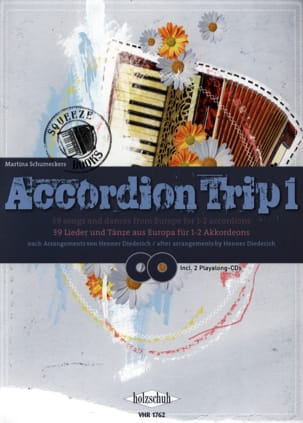 Accordion Trip 1 - Martina Schumeckers - Partition - laflutedepan.com