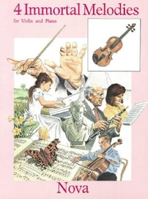 4 Immortal Melodies Partition Violon - laflutedepan
