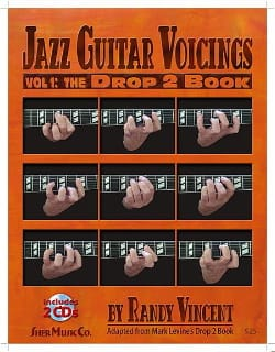 Jazz Guitar Voicings Volume 1: The Drop 2 Book avec 2 CDs laflutedepan