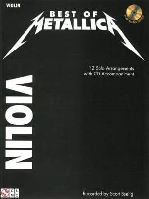 Best Of Metallica Metallica Partition Violon - laflutedepan