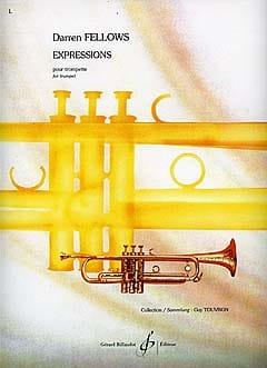 Expressions - Darren Fellows - Partition - laflutedepan.com