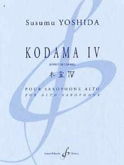 Susumu Yoshida - Kodama IV Spirit of the Tree - Sheet Music - di-arezzo.com