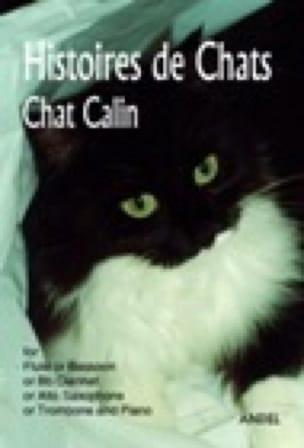 Histoires de chats - Chat calin Francis Laperteaux laflutedepan