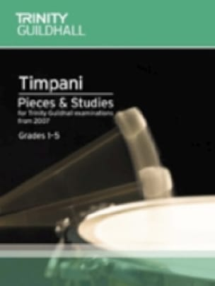 Timpani - Pieces - Studies - Grades 1-5 - Partition - di-arezzo.co.uk