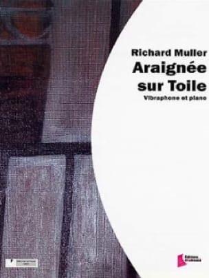 Araignée Sur Toile Richard Muller Partition Vibraphone - laflutedepan