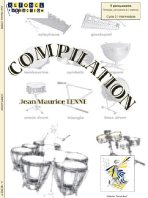 Compilation Jean-Maurice Lenne Partition laflutedepan