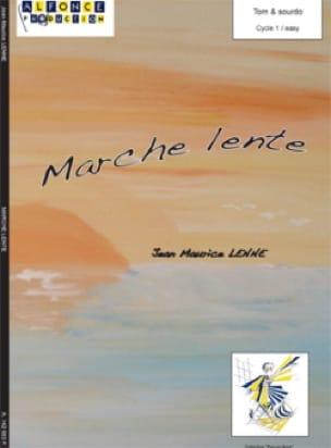 Marche Lente Jean-Maurice Lenne Partition laflutedepan