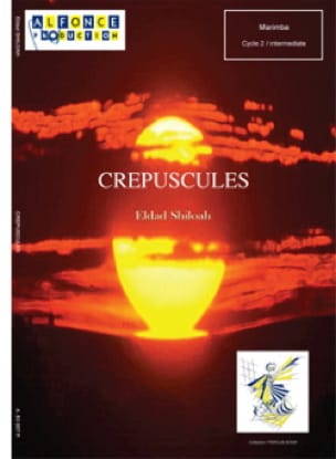 Crepuscules Eldad Shiloah Partition Marimba - laflutedepan